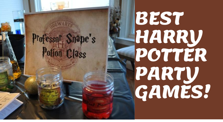 best harry potter party games