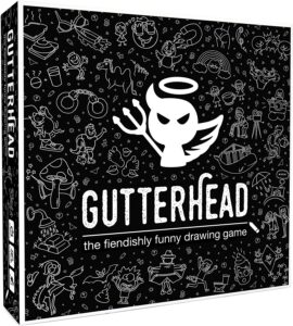 Gutterhead The Fiendishly Funny Drawing Game reviews