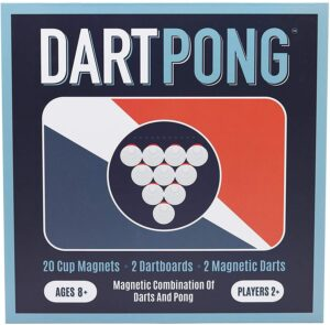 Towpath Gaming Dart Pong: Fun Beer Pong + Darts Party Game
