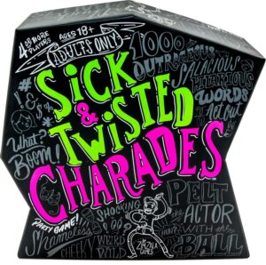 Wonder Forge Sick & Twisted Charades Party Game