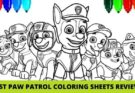 Best Paw Patrol Colouring Sheets & Pictures To Color Reviews