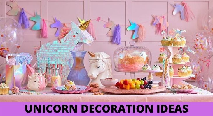 unicorn decoration ideas